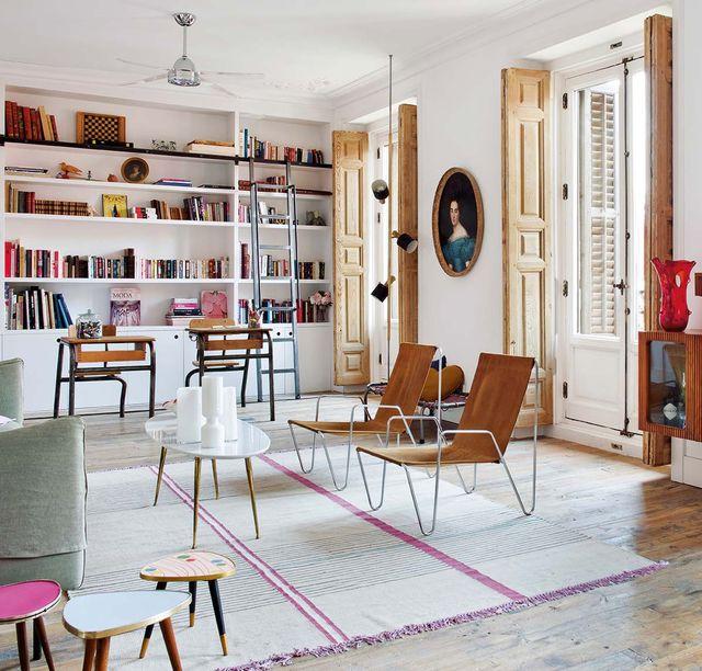 un piso en el centro de madrid decorado para vivir con niños