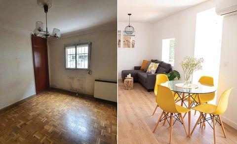 piso reformado antes y después