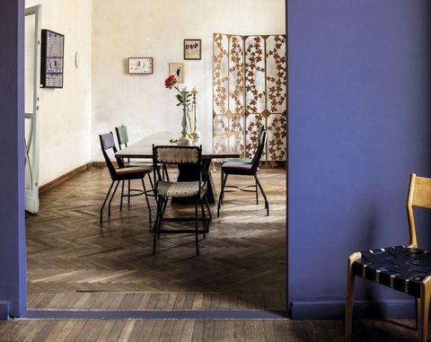 piso de una diseñadora en brera, milán
