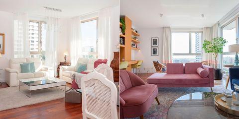 piso familiar antes y después