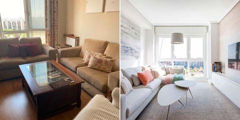 un piso familiar reformado para ganar tres habitaciones