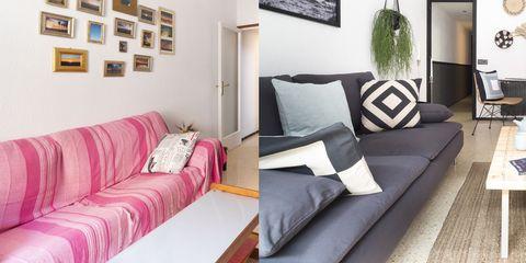 Proyecto de Home Staging en un piso del barrio de Gracia