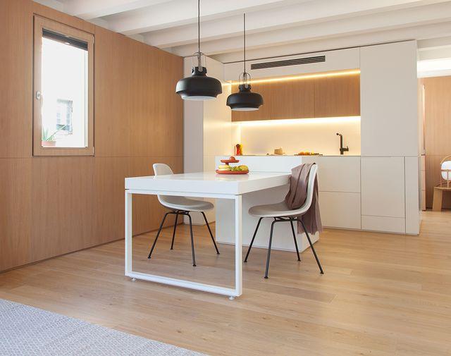 un piso en gracia, barcelona, de 38 metros cuadrados aprovechados al máximo