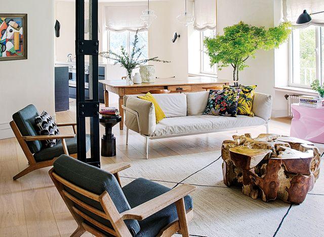 un piso en madrid tan elegante como informal decorado por inés benavides