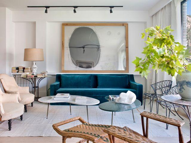 un piso en madrid reformado con estilo ecléctico y elegante
