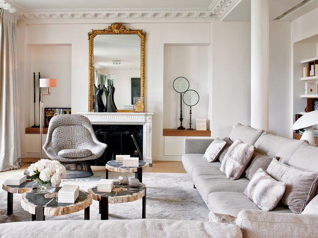 piso paris elegante colores claros sthepane olivier