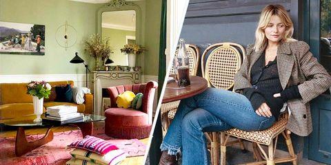 Piso en París de la instagramer Sabina Socol