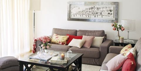 Living room, Furniture, Room, Interior design, Property, Couch, Wall, Table, Floor, Ceiling,