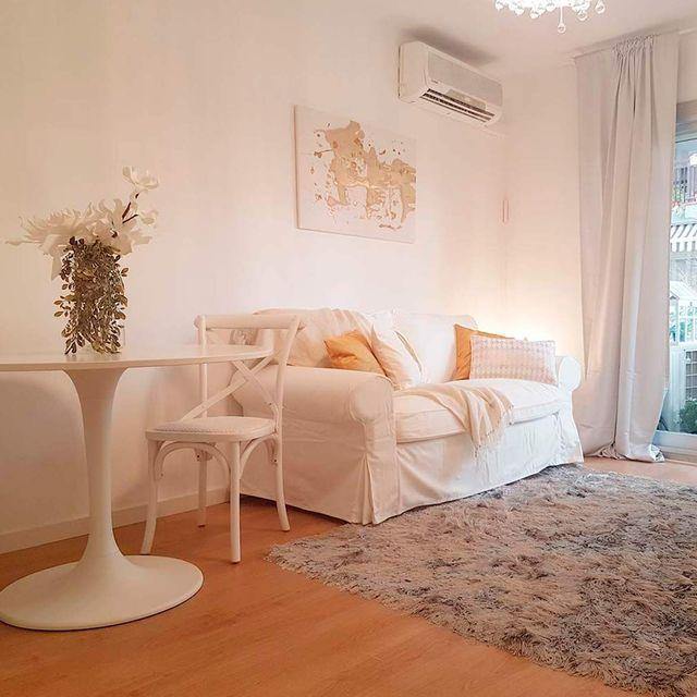 de piso anticuado a elegante y moderno