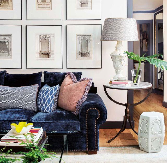un clásico piso señorial modernizado con color por amaro sánchez de moya