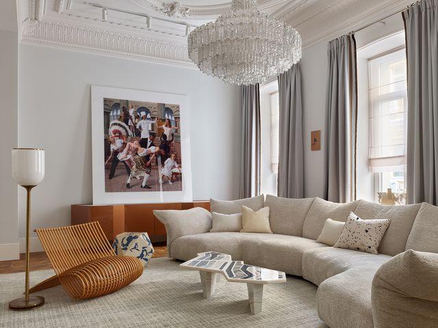 piso señorial en moscú interiorista anna zinkovskaya