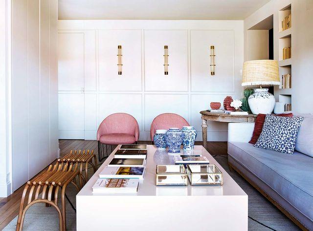un piso en madrid con una decoración inspirada en los cottages ingleses