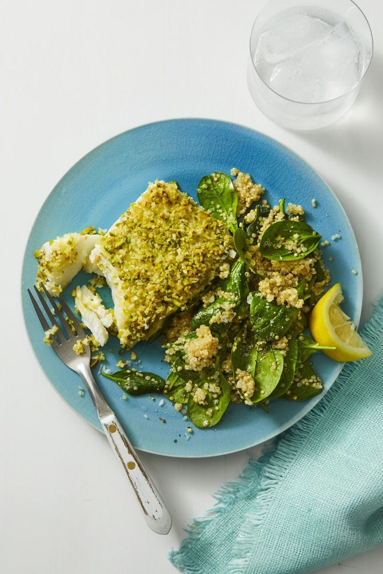 How to make healthy pistachio crusted fish best for Pistachio crusted fish