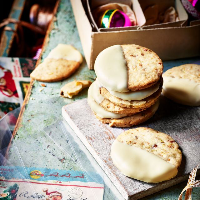 best biscuit and cookie recipes clotted cream, pistachio and cardamom biscuits