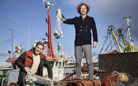pieter muntendam bos krullen en dennis favier, founders seasogood, ijmuiden, 12 4 2021
