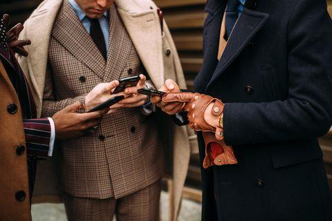Suit, Formal wear, Tie, Fashion accessory, Tuxedo, Street fashion, Businessperson,