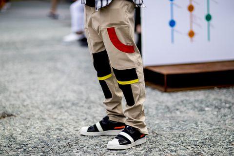 Pantalón cargo de verano para hombre