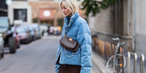 Denim, Street fashion, Jeans, Clothing, Shoulder, Fashion, Textile, Outerwear, Joint, Jacket,