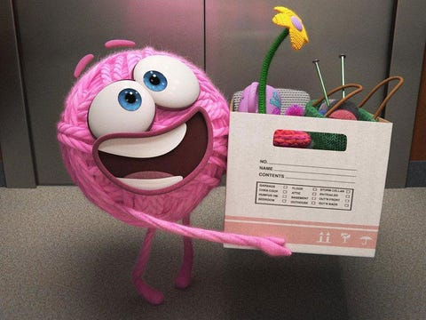 Pink, Toy, Plush, Smile, Plant, Insect, Animation, Party supply,