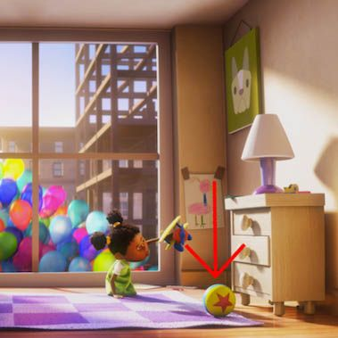 Pixar Easter Eggs - Luxo Ball