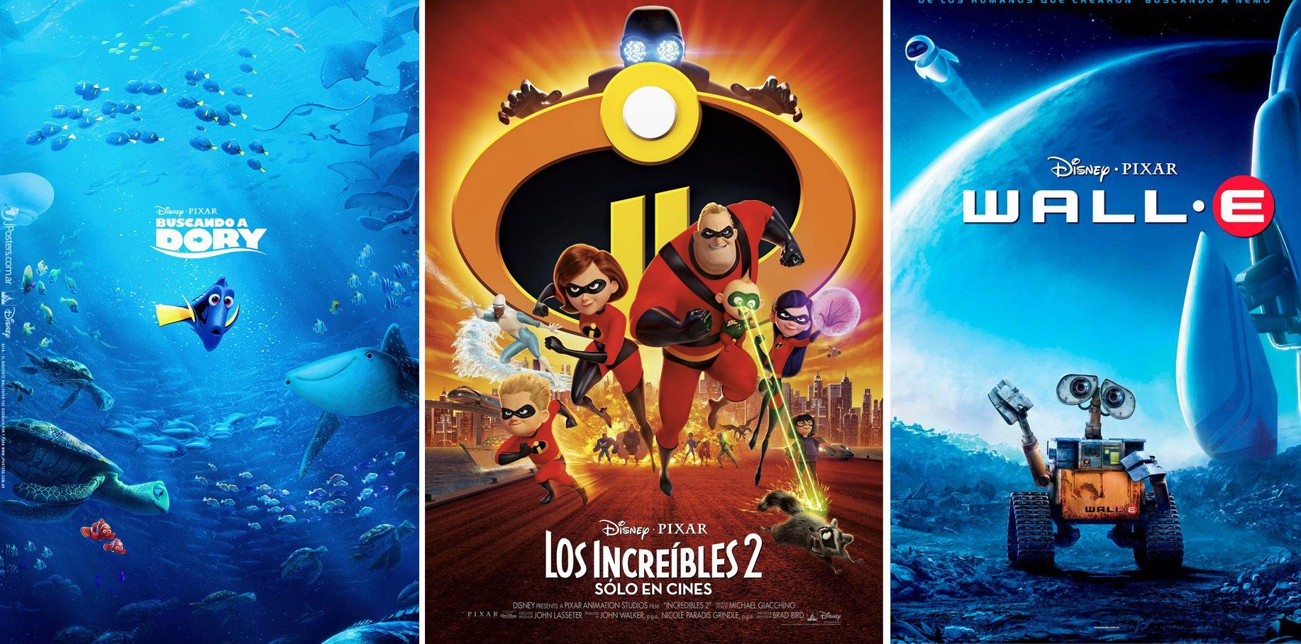 Las películas de Pixar en orden de taquilla - 'Los Increíbles 2': la película más taquillera de Pixar