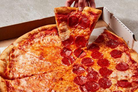 pizza running