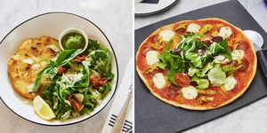 Best pizza express option for calories
