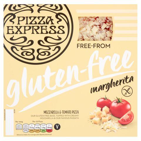 Pizza Express gluten free pizza