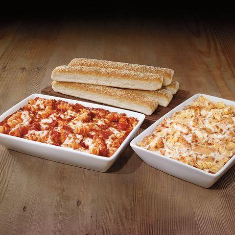 Pizza Hut meaty marinara pasta
