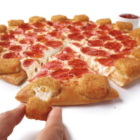 Dish, Food, Cuisine, Ingredient, Pepperoni, Junk food, Fast food, Staple food, Waffle, Finger food,