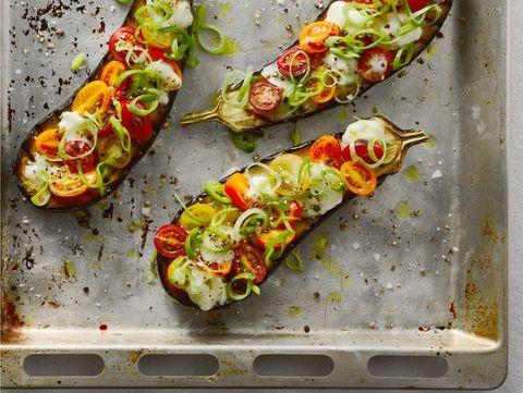 pizza melanzane recept