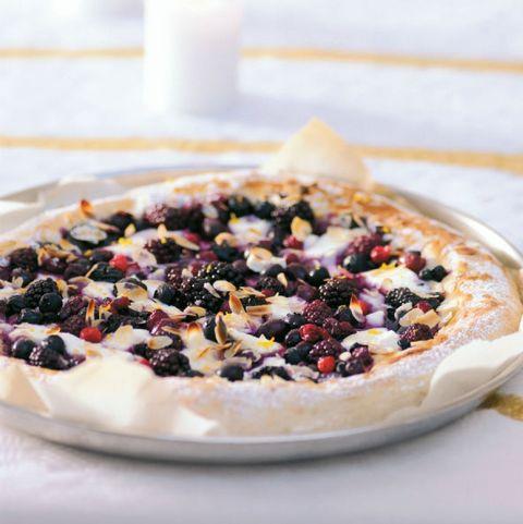 pizza ricotta bosfruit