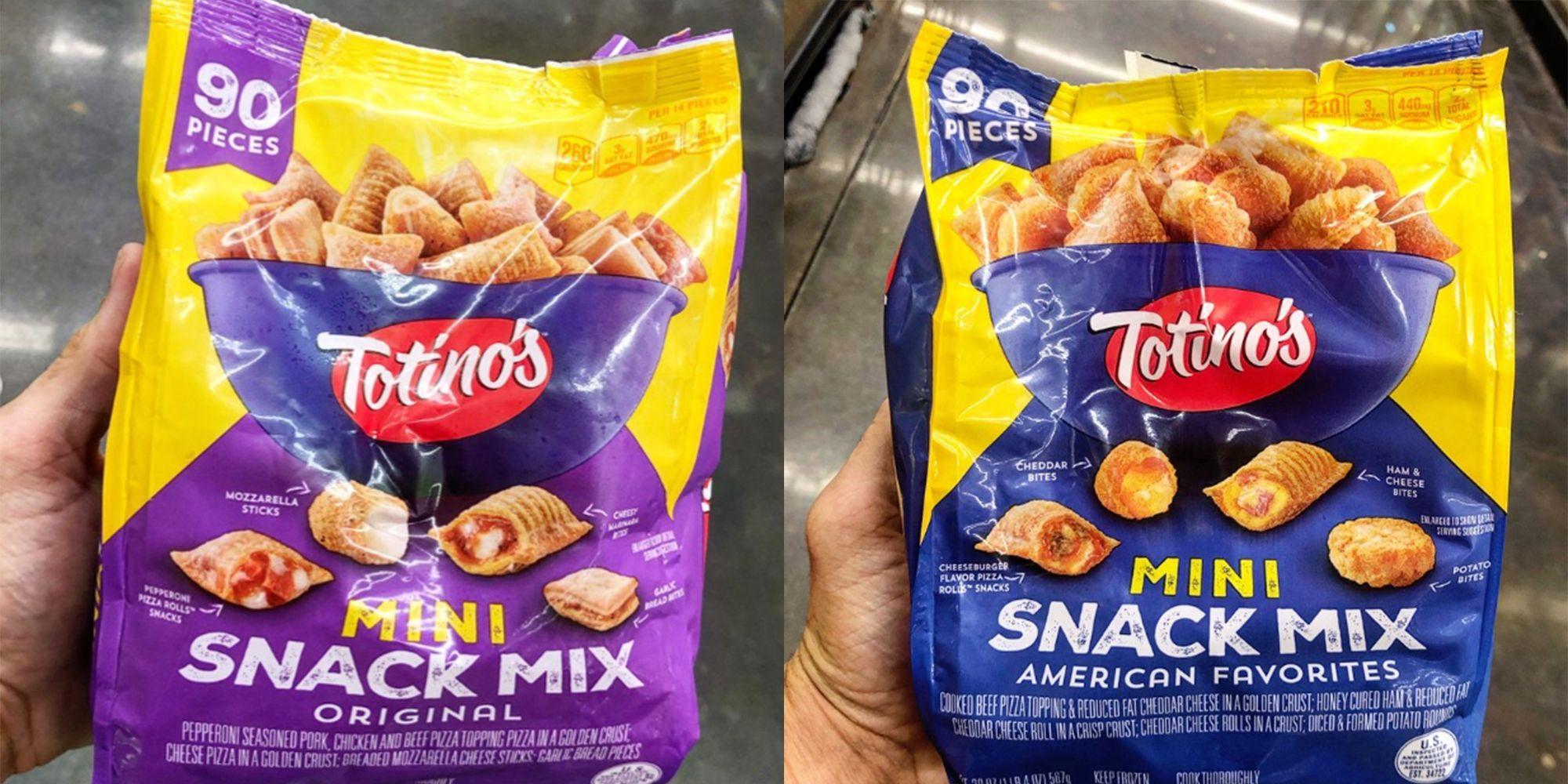 Totinos New American Favorites And Original Snack Mixes