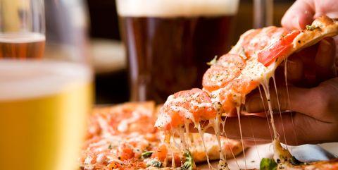 Dish, Food, Cuisine, Ingredient, Brunch, Pizza, Comfort food, Drink, Pizza cheese, Recipe,