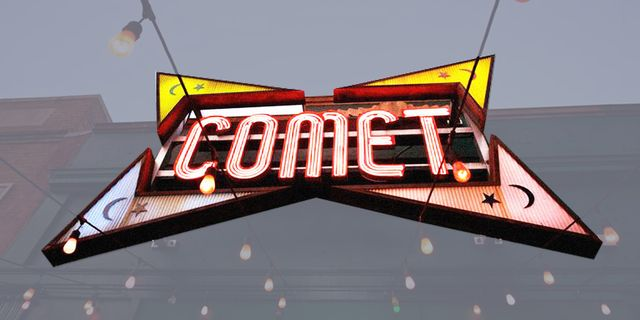Text, Amber, Font, Signage, Neon, Electronic signage, Neon sign, Graphics,