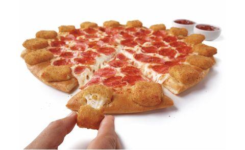 Dish, Food, Cuisine, Ingredient, Pepperoni, Junk food, Fast food, Meat, Sausage, Waffle,