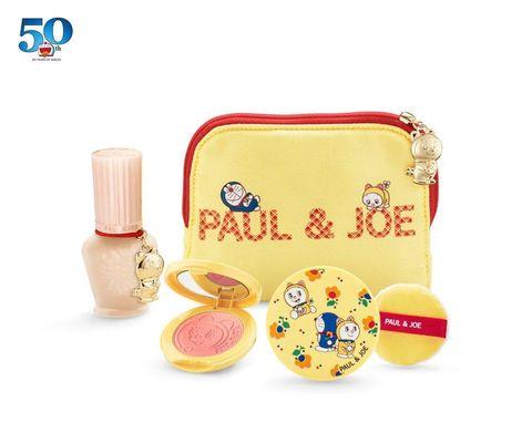 pauljoe與哆啦a夢聯名彩妝來放火,光是外包裝就可愛得讓人想收藏!