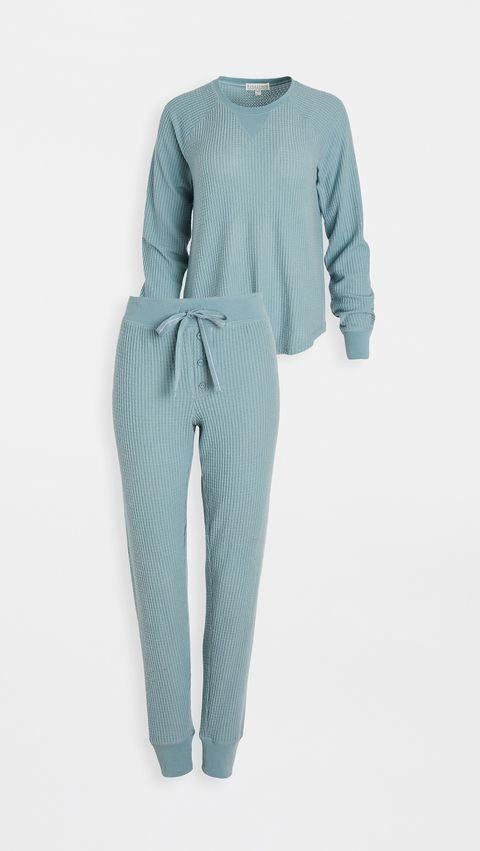 10款舒適長袖成套睡衣推薦