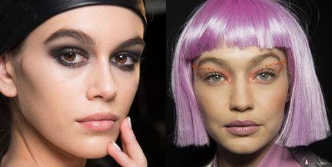 Face, Hair, Eyebrow, Cheek, Nose, Lip, Violet, Chin, Purple, Skin,