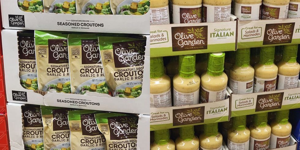 Aldi Is Selling Olive Garden's Famous Salad Dressing And Croutons