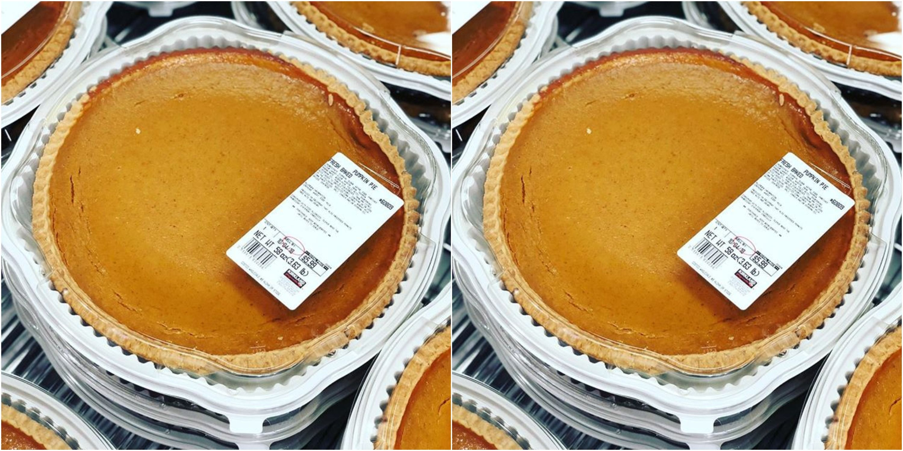 Costco Is Already Selling Pumpkin Pie And It's Not Even October
