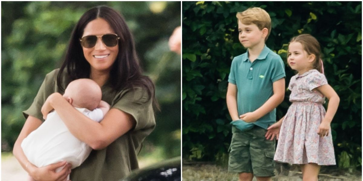 Archie Didn T Meet Prince George Princess Charlotte For