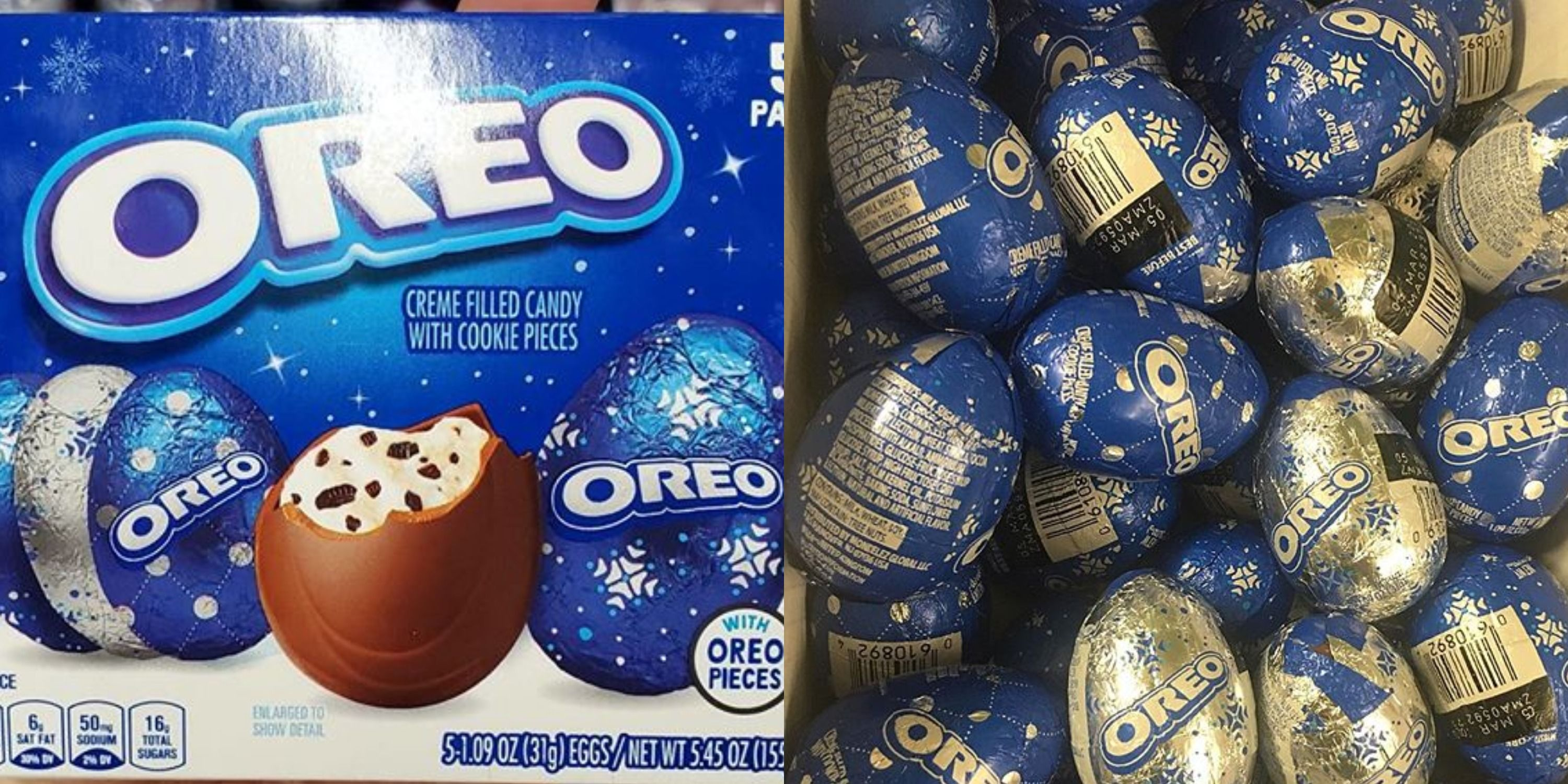Oreo Chocolate Eggs Are Back On Shelves This Winter Proving They're Not Just For Easter