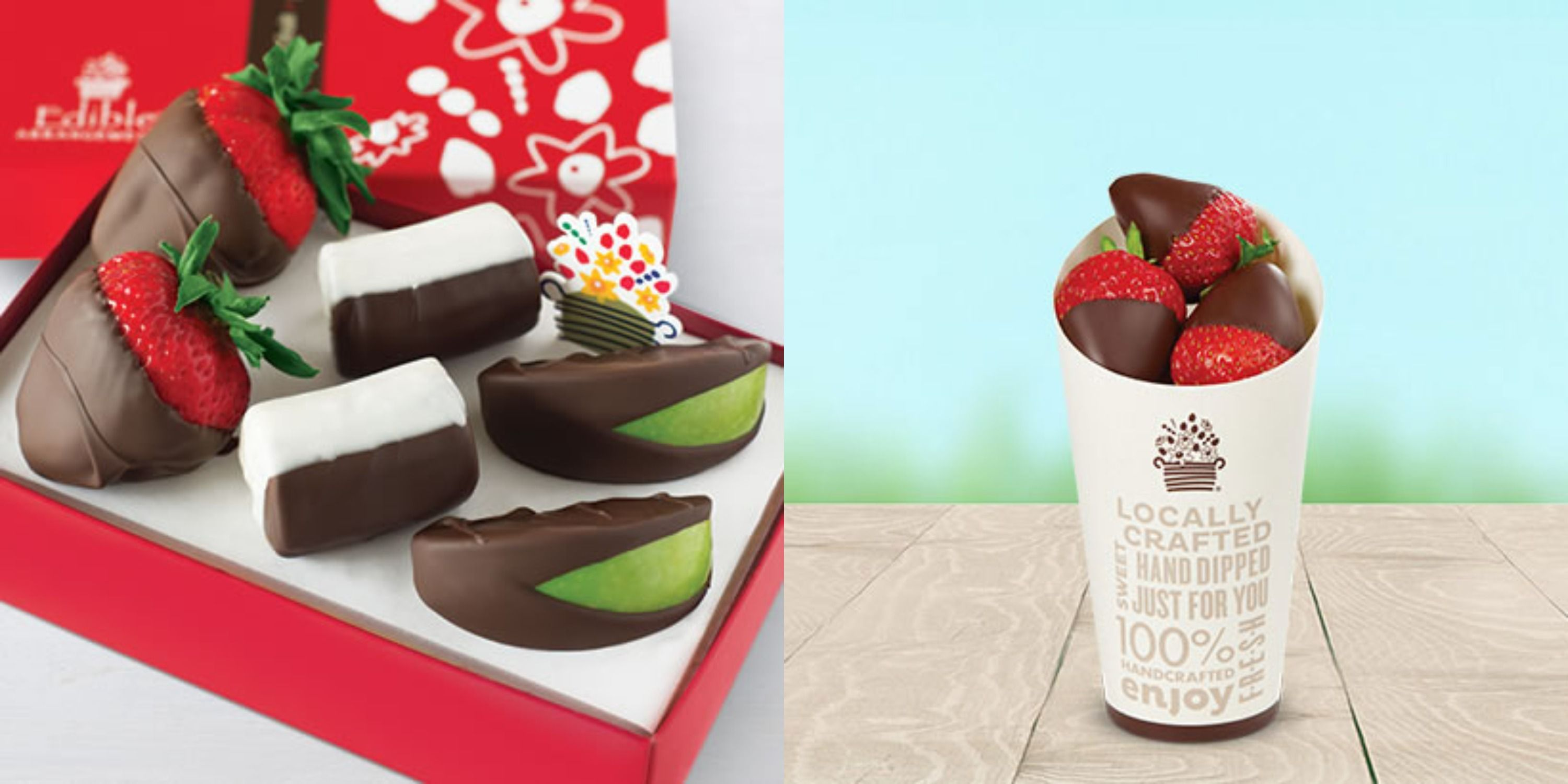 Edible Arrangements Is Now Making Chocolate-Covered Fruit Infused With CBD