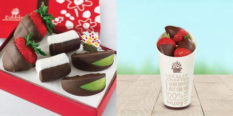 Strawberry, Strawberries, Food, Chocolate, Dessert, Cuisine, Fruit, Frozen dessert, Dish, Recipe,