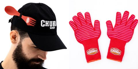 Clothing, Cap, Personal protective equipment, Glove, Sports gear, Beanie, Headgear, Fashion accessory, Costume accessory, Logo,