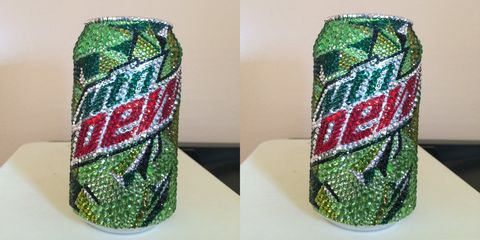 Green, Beverage can, Textile, Pattern, Pattern, Art,