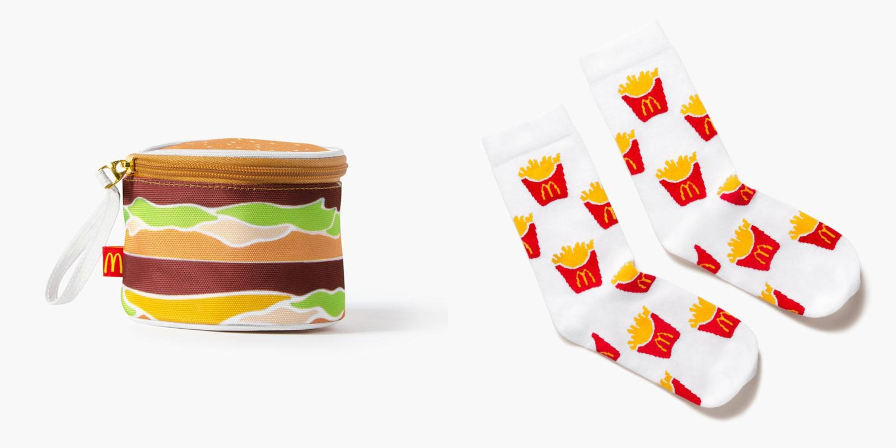 McDonald's Dropped A Clothing Line That Includes Holiday Sweaters And A Big Mac Bag