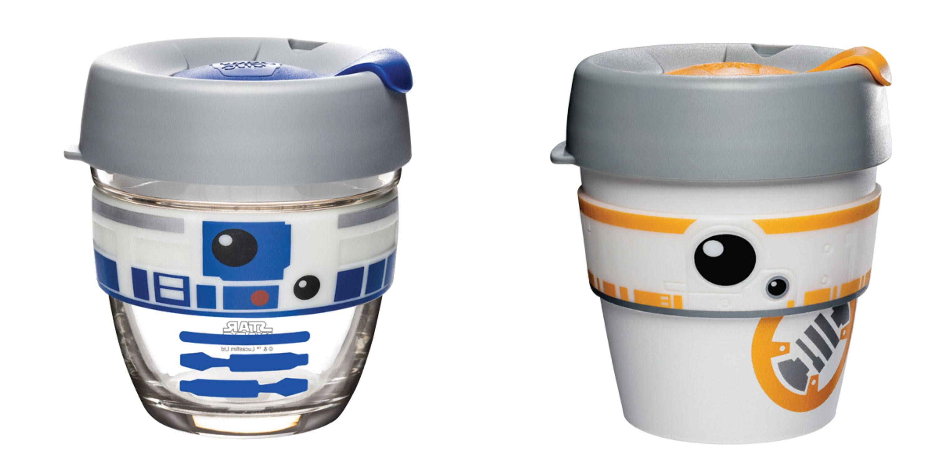 "KeepCup Has A Whole Line Of ""Star Wars""-Inspired Travel Mugs Including A Very Cute BB-8"