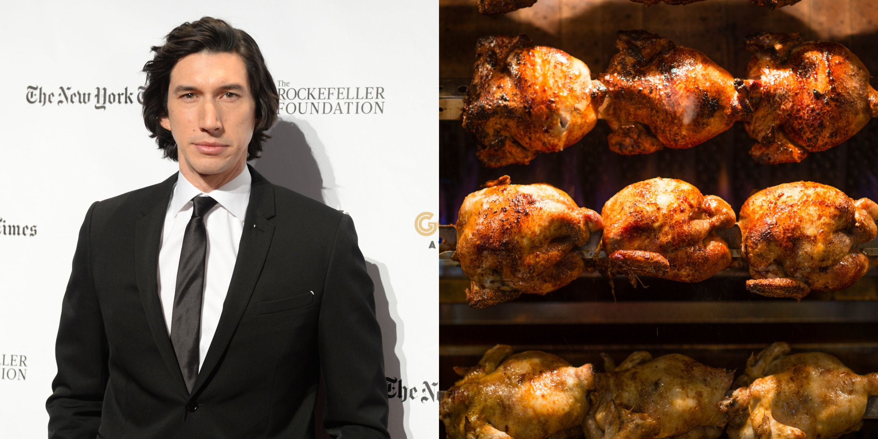 Adam Driver, A Gift To Us All, Used To Eat A Rotisserie Chicken Every Single Day